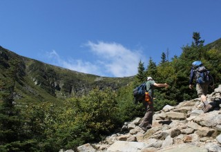 Tuckerman's Ravine on Mt. Washington