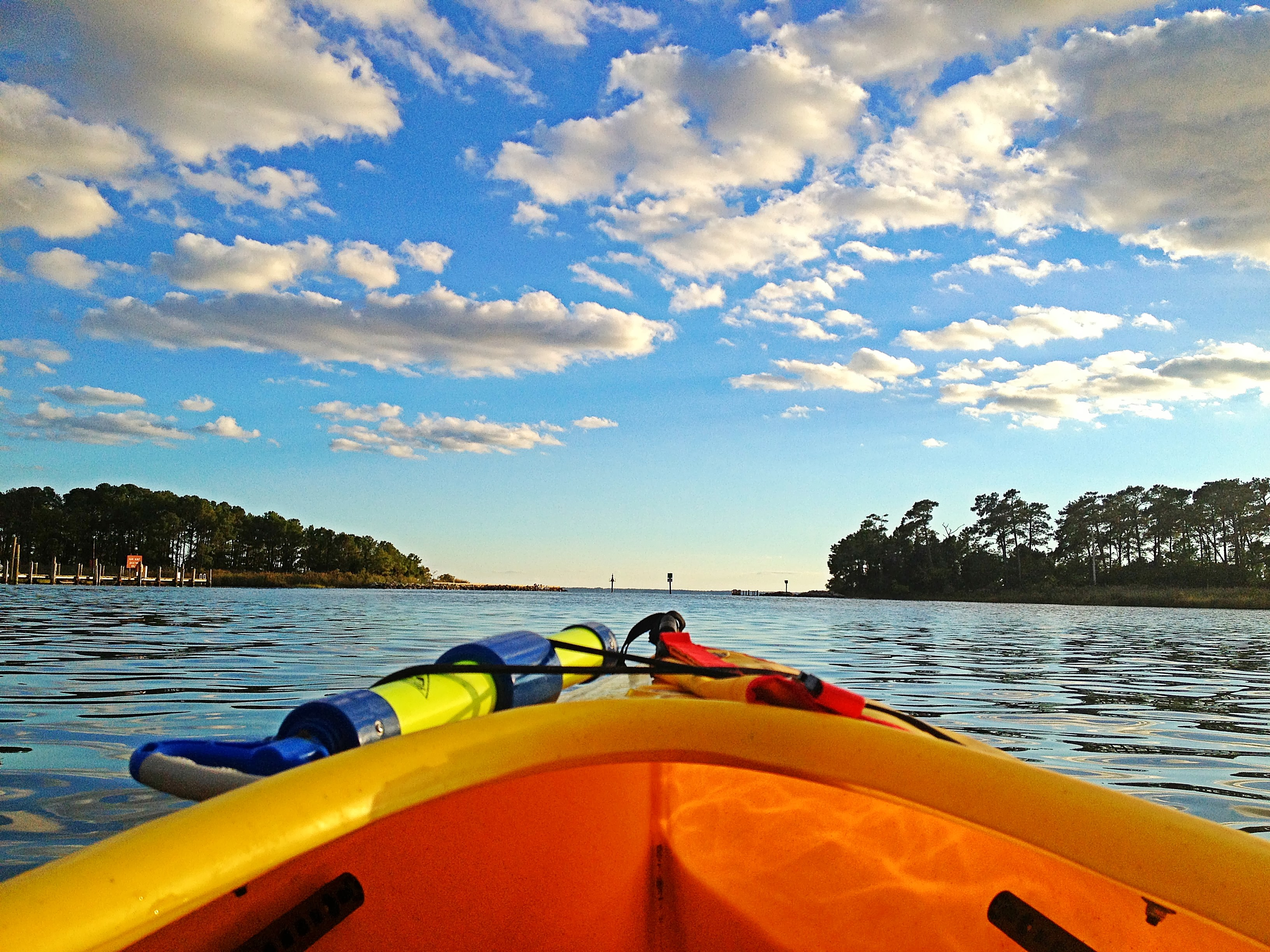 Paddling the Chesapeake Bay