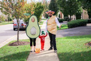 Avocado Maternity Halloween Costume